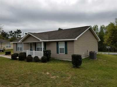 Midway Single Family Home For Sale: 492 Sand Pine Circle