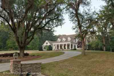 Tallahassee Single Family Home For Sale: 8025 Oak Grove Plantation Road