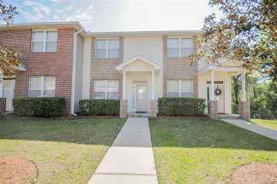 tallahassee Condo/Townhouse For Sale: 3400 Old Bainbridge Rd #607