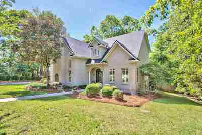 Tallahassee Single Family Home For Sale: 1117 Savannah Trace
