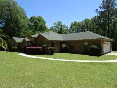 Tallahassee Single Family Home New: 9011 Prosperity Lane