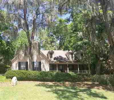 tallahassee Single Family Home For Sale: 3433 Gardenview Way