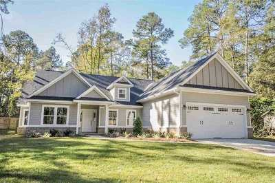 Tallahassee Single Family Home New: 1608 Folkstone Road