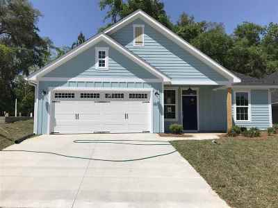 Tallahassee Single Family Home New: 361 Gathering Oaks Drive