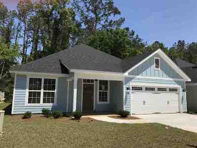 Tallahassee Single Family Home New: 335 Gathering Oaks Drive
