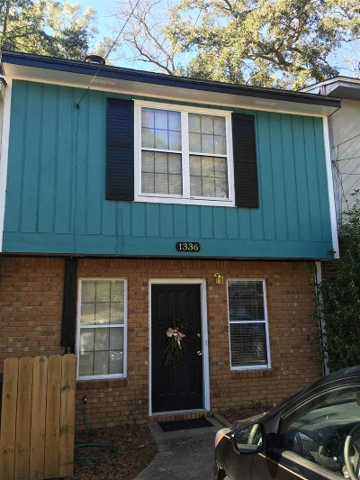 Tallahassee FL Condo/Townhouse Contingent: $115,000