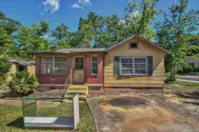 tallahassee Single Family Home For Sale: 722 Campbell Street