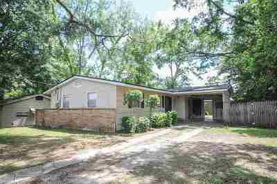 tallahassee Single Family Home For Sale: 2113 Belle Vue Way