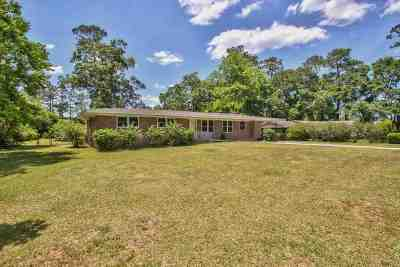 tallahassee Single Family Home For Sale: 1106 Richardson Road
