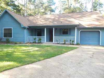 tallahassee Single Family Home For Sale: 1718 Indian Town Lane