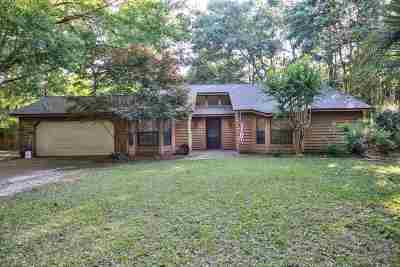 Killearn Lakes Single Family Home For Sale: 3321 Wildwood Trail