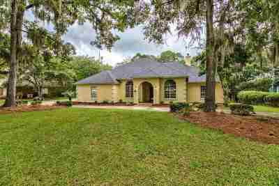 Tallahassee Single Family Home For Sale: 7665 Willow Bastic Ct