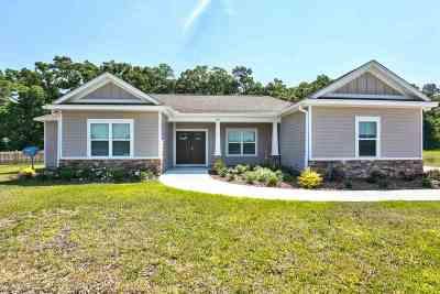 Crawfordville Single Family Home For Sale: 270 Tillis Ln