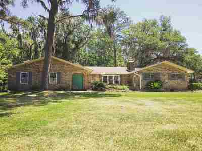 tallahassee Single Family Home For Sale: 1937 Sageway Drive