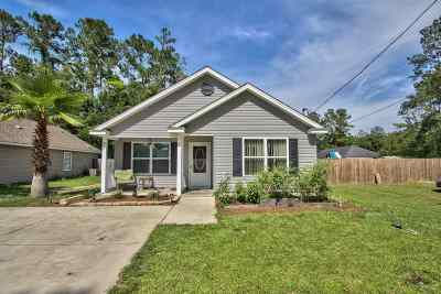 Wakulla County Single Family Home For Sale: 35 Shar Mel Re
