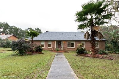Tallahassee Single Family Home New: 2644 Lucerne Drive