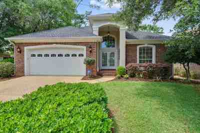Tallahassee Single Family Home New: 9082 Eagles Ridge