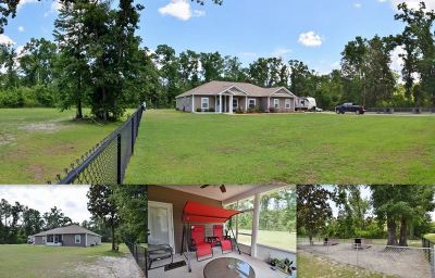 Crawfordville Single Family Home New: 1346 Shadeville Road