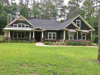 Tallahassee Single Family Home For Sale: 3565 Lakeshore Drive