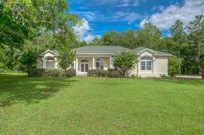 Crawfordville Single Family Home For Sale: 172 Country Club Drive