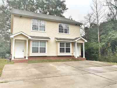 Tallahassee Multi Family Home Contingent: 1550 Devoe Street #1-7
