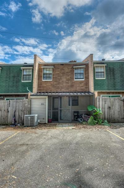 tallahassee Condo/Townhouse For Sale: 564 Teal Lane