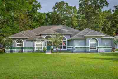 Crawfordville Single Family Home For Sale: 1217 Dr Martin Luther King Jr.