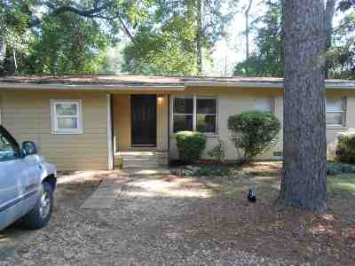 tallahassee Single Family Home For Sale: 1670 Sharkey Street