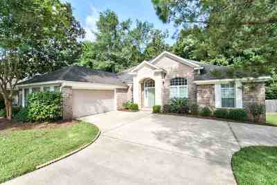 Tallahassee Single Family Home New: 709 Eagle View Circle