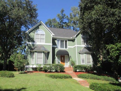 Tallahassee Single Family Home New: 404 Meridian Ride