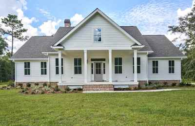 Tallahassee Single Family Home For Sale: 7508 Lick Skillet Drive