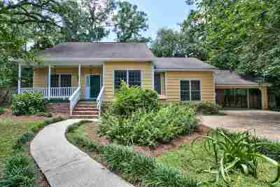 Tallahassee Single Family Home New: 2720 Everett Lane