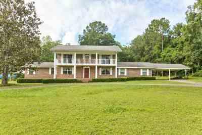 Tallahassee Single Family Home New: 5277 Buck Lake Road