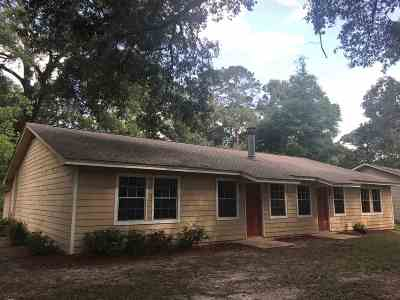 Tallahassee FL Single Family Home Contingent: $150,000