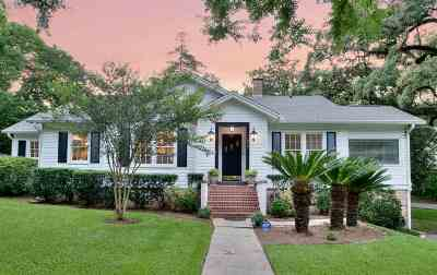 Tallahassee Single Family Home New: 552 Miccosukee Road