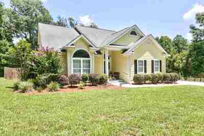 Tallahassee Single Family Home New: 4775 Stoney Trace