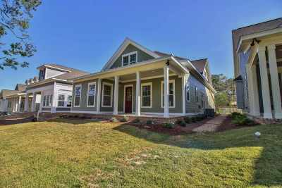 Tallahassee Single Family Home New: 1191 Braemore Way