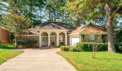 tallahassee Single Family Home For Sale: 836 Eagle View Drive