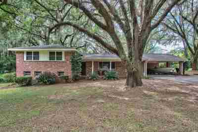 tallahassee Single Family Home For Sale: 2700 Old Bainbridge Road