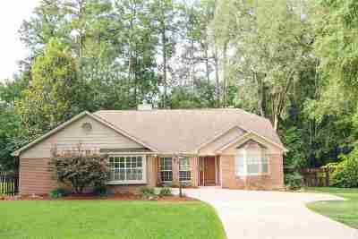 Killearn Lakes Single Family Home Contingent: 8188 Blue Quill Trail