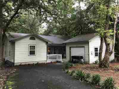 tallahassee Single Family Home For Sale: 1725 Brookside Boulevard