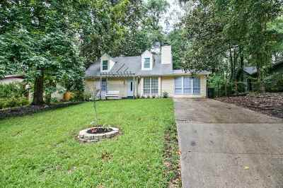 tallahassee Single Family Home For Sale: 1020 Sutor Road