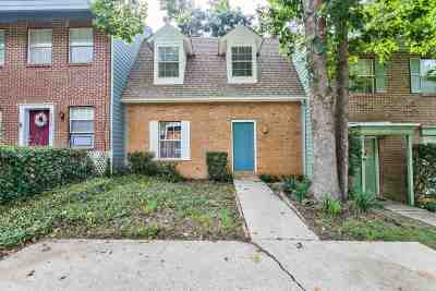 tallahassee Condo/Townhouse For Sale: 2373 Gregory Drive