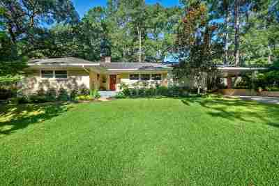 tallahassee Single Family Home For Sale: 1003 Shalimar