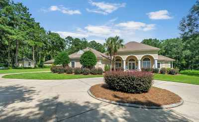 Lloyd, Tallahassee, Monticello, Lamont, Quincy, Havana, Wacissa, Crawfordville, Woodville Single Family Home For Sale: 15125 N Meridian Road