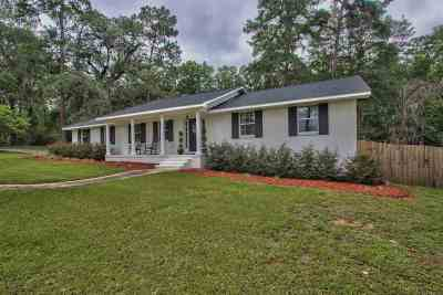 Tallahassee Single Family Home For Sale: 2076 Ox Bottom Road