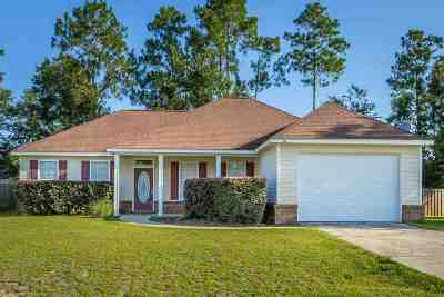 Wakulla County Single Family Home For Sale: 20 Pecan Street