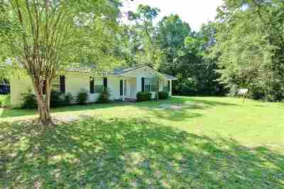 Wakulla County Single Family Home Contingent: 3238 Crawfordville Highway