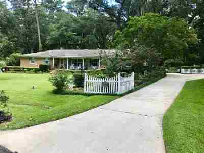 Leon County Single Family Home For Sale: 1114 Mercer Drive