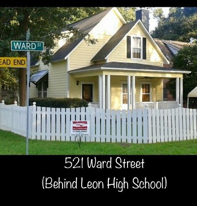 tallahassee Single Family Home New: 521 Ward Street